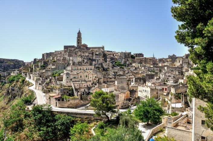 Matera, la leggendaria città dei sassi